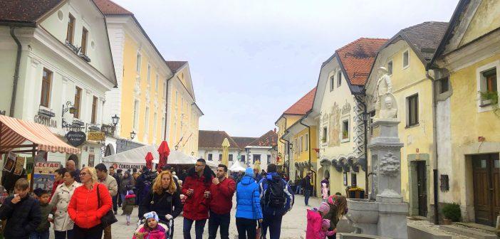 Balın ve çikolatanın başkenti Radovljica