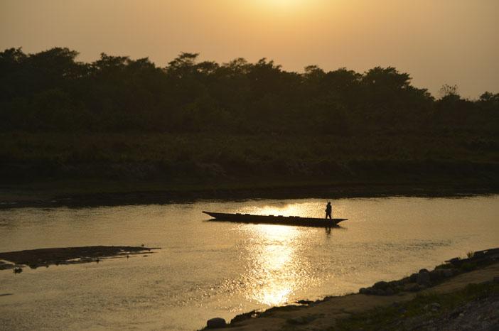 chitwan-sunset