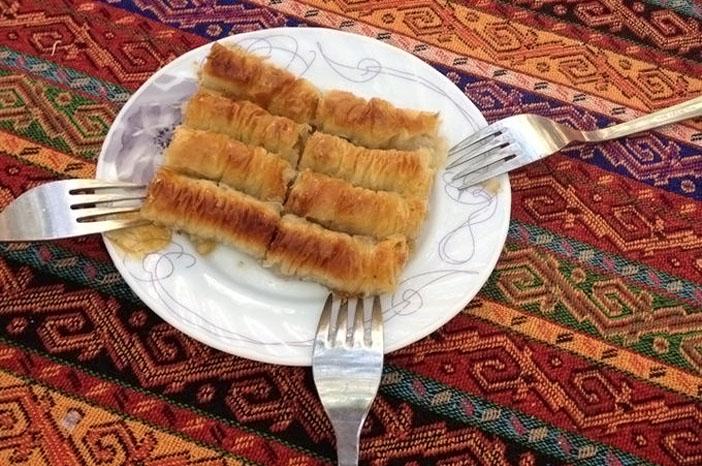 sarma tatlı- ensar lokantası- harput