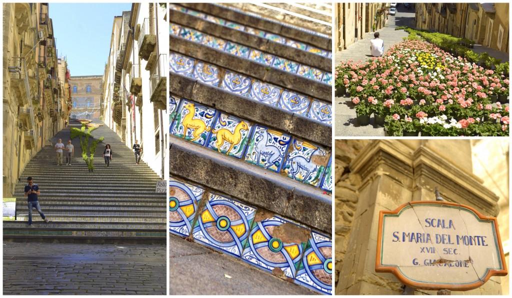 Caltagirone steps sicily
