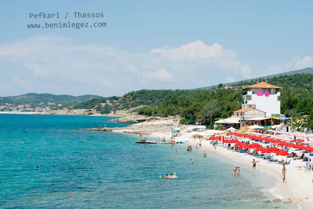 Thassos-Adasi-Pefkari-Plaj