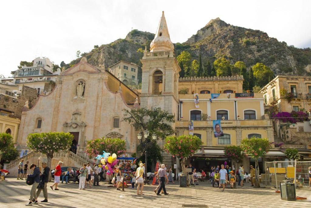 Taormina-Sicilya